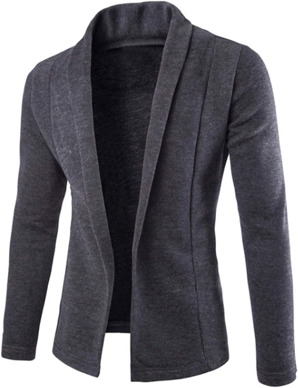 dextrad fashion-hoodies Sweater Men V-Neck Sweater Coat Cardigan Male Solid Color Slim Sweater Coat