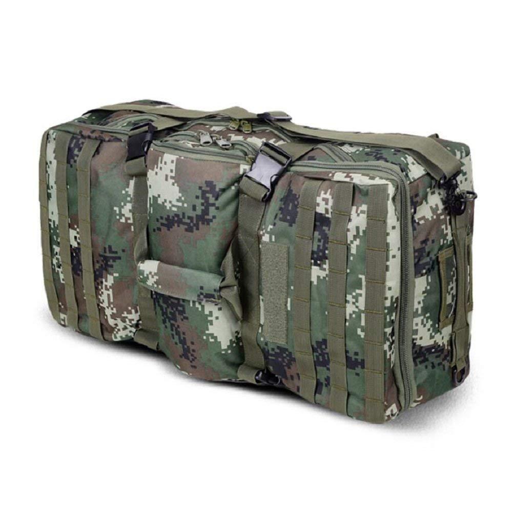 GZZ Outdoor-Rucksack Outdoor Fashion Camouflage Tactical Ausrüstung Rucksack, Handtasche, Wandern, Bergsteigen, Camping, Männer und Frauen General Baggage Rucksack
