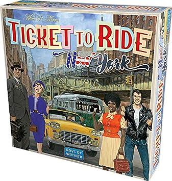 Asmodee- Ticket To Ride New York Juego de Mesa, Color Azul, 720560: Amazon.es: Juguetes y juegos