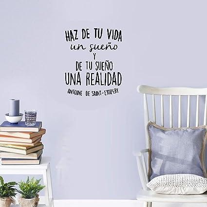 Amazon Yuimn Diy Removable Vinyl Decal Mural Spanish