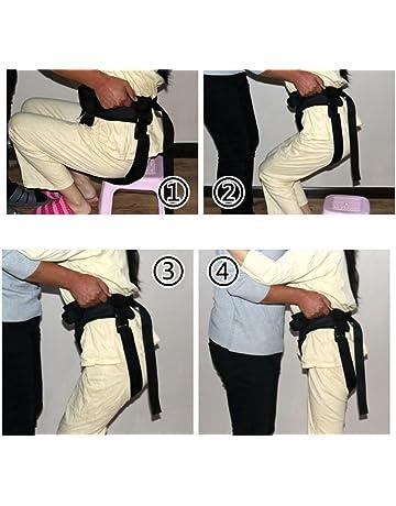MEYLEE Cuidado de la Salud Cinturón de cambio ajustable - Banda de restricción de seguridad de