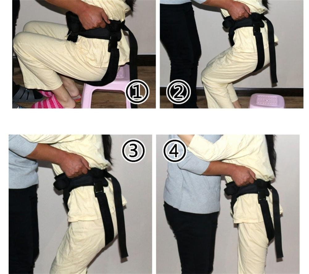 LUCKYYAN Healthcare Adjustable Shift Belt - Nursing Security Restraint Band - The elderly Walker Walk Rehabilitation Equipment Health Care for Wheelchair Users by luckyyan