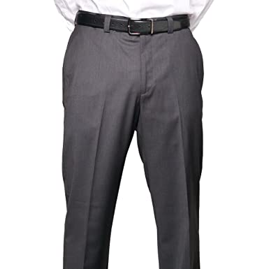 Calvin Klein Mens Flat Front Straight Leg Dress Pants at Amazon ...