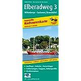 Elberadweg 3, Wittenberge - Cuxhaven: Leporello Radtourenkarte mit Ausflugszielen, Einkehr- & Freizeittipps, wetterfest, reissfest, abwischbar, GPS-genau. 1:50000 (Leporello Radtourenkarte / LEP-RK)