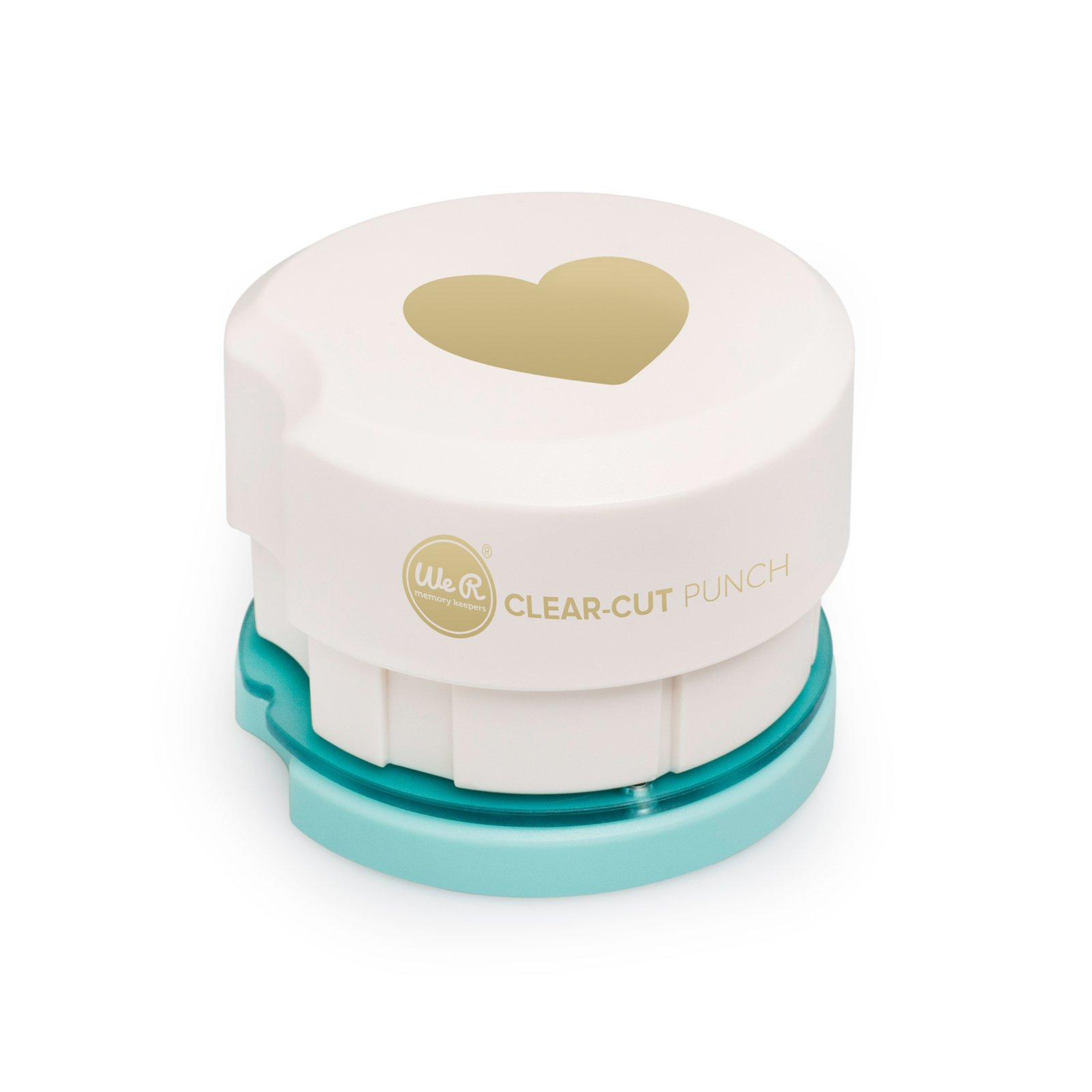 American Crafts We R Memory Keepers Clear Cut 2 Inch Magnetic Punch Heart 2''
