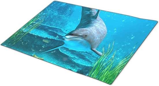 EleganceElegant Dolphin Coral Doormat