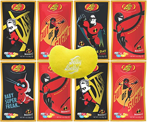 Jelly Belly Candy Gift Pack - Incredibles 2 Jelly Beans, 1 O