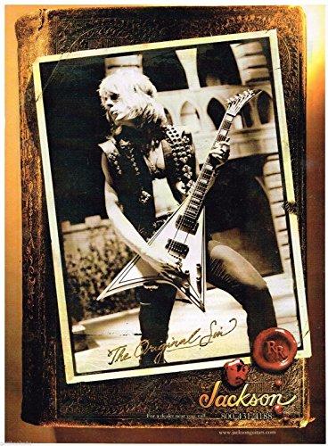Rhoads Randy Strings - Jackson Guitars - The Original Sin - Randy Rhoads - 2003 Advertisement
