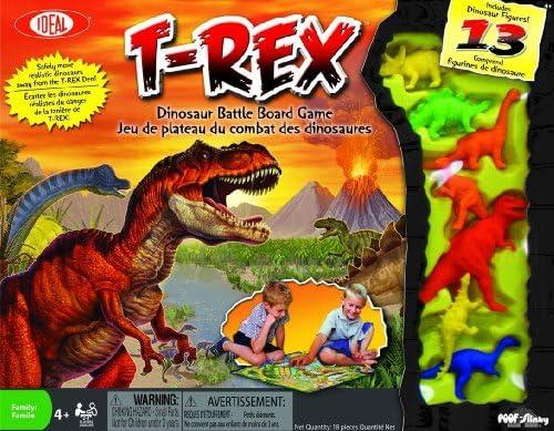 Zas-Slinky 0C617 T-Rex Dinosaur Batalla Juego de mesa: Amazon.es: Juguetes y juegos