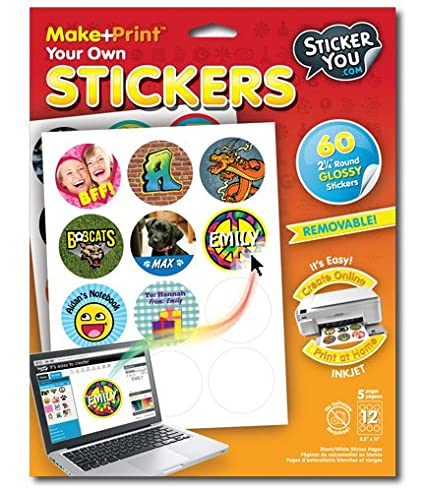 StickerYou Make+Print Round 2.25