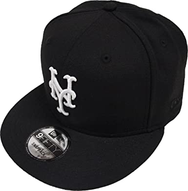 best loved 62b71 7b5fc ... shopping new era new york mets black white logo snapback cap 9fifty  limited edition 6ab84 24bd8