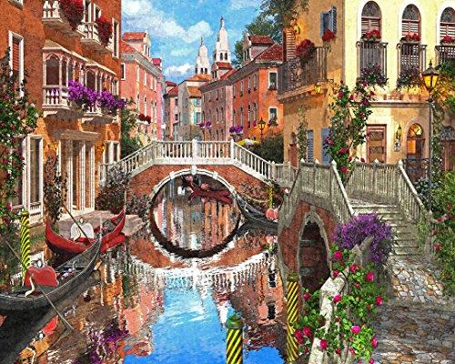Vermont Christmas Company Venetian Waterway Jigsaw Puzzle 1000 Piece