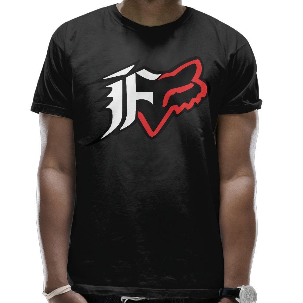 Evelyn C. Connor Men's Fox Racing T Shirt Black