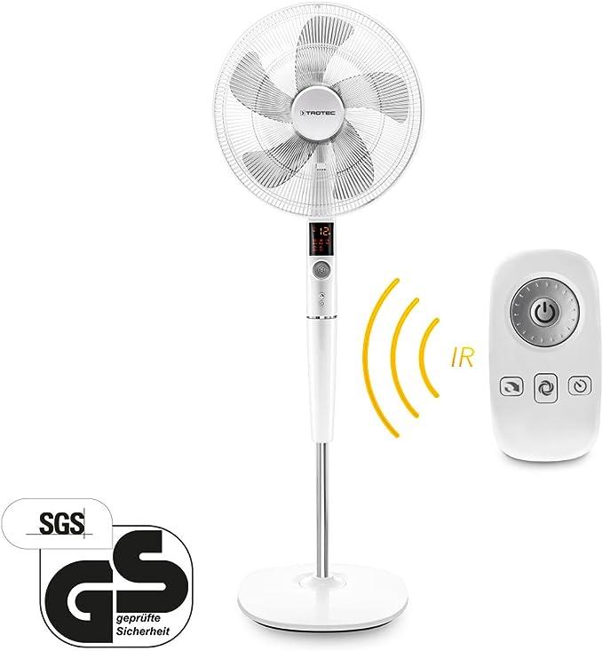 Trotec Ventilador silencioso ventilador de pie diseño TVE 26 S ...