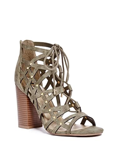 G by Guess Womens Juto6 Open Toe Casual Strappy Sandals