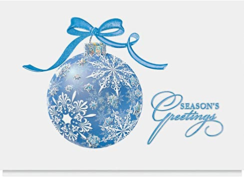 From All of Us Christmas Card Embossed /& Foiled  Xmas Greeting Cards Gift