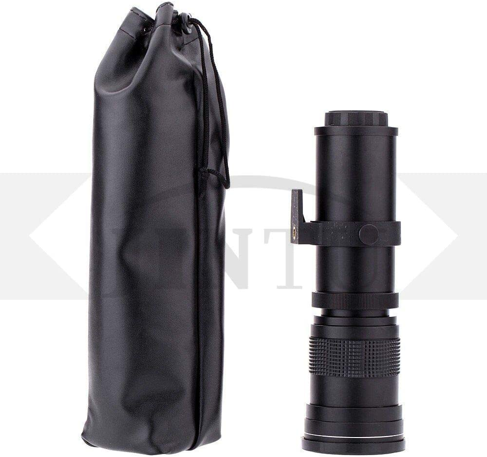 Carry Bag T7s T6s T7 650D 7D T6 77D SL2 SL1 Digital SLR Cameras T5 70D,80D T6i T7i T5i JINTU 420-800mm f// 8.3-F16 Telephoto Zoom Camera Lens for Canon EOS Rebel APS-C DSLR 60D 750D