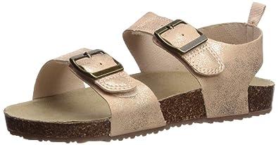6c1880231 carter s Girl s Duncan Metallic Buckle Strap Sandal