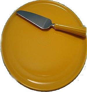 Fiesta Round Cake Plate and Server Marigold  sc 1 st  Amazon.com & Amazon.com | Fiesta Cake Plate with Server 12-Inch Lemongrass ...