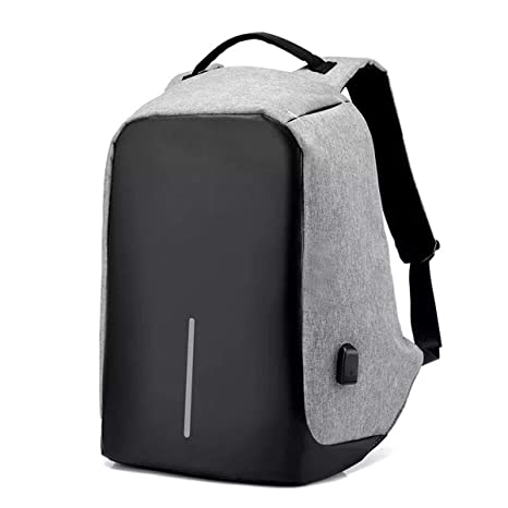 GadgetBucket Most Popular Anti Theft Backpack Waterproof Business Laptop Bag  with USB Charging Port for 14 4ffd76771b641