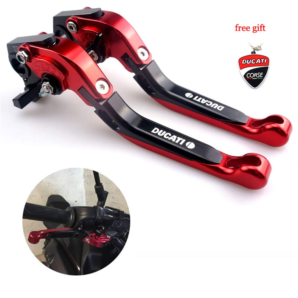 CNC Motorcycle Foldable Extendable Clutch Brake Lever For Ducati 848 EVO 2007 2008 2009 2010 2011 2012 2013 UBuy