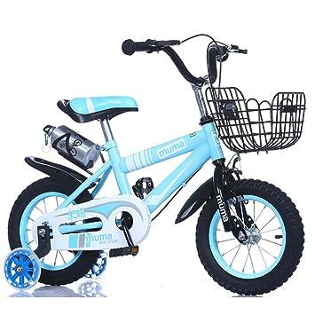 Z&D Bicicletas Para Niños, Juguetes De Bicicleta Con Marco De Acero De Alto Carbono Con