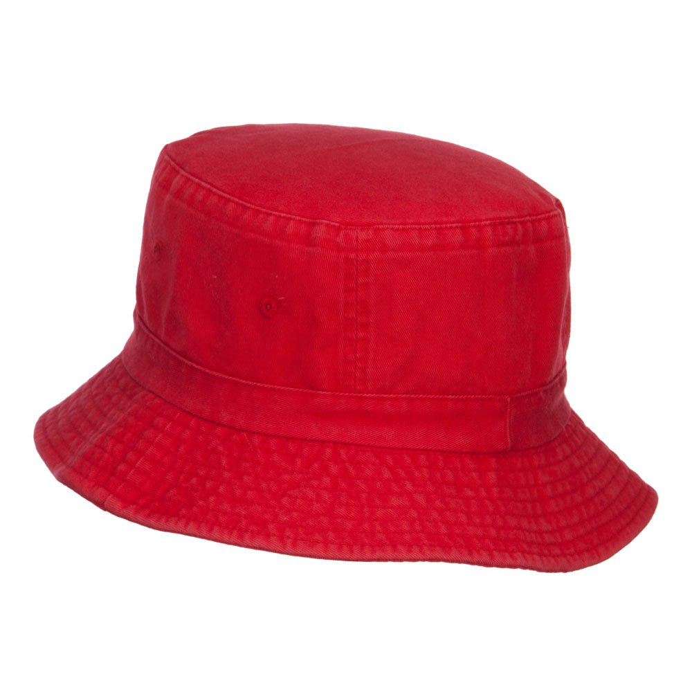 e4Hats.com Make America Great Again Embroidered Bucket Hat Red OSFM