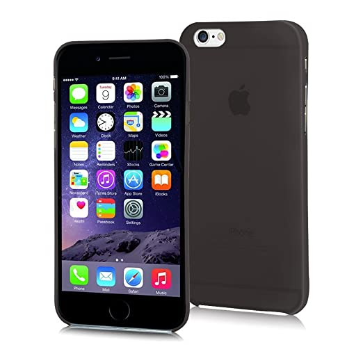 468 opinioni per EASYPLACE®- Cover Case Brinata- Ultra Sottile Slim 0,3mm- NERO SATINATO- Apple