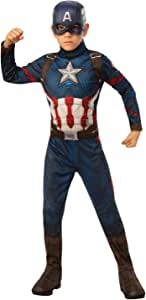 Rubie's 4243 Avengers Endgame - Captain America Child Costume, Size 3-5 Yrs Costume