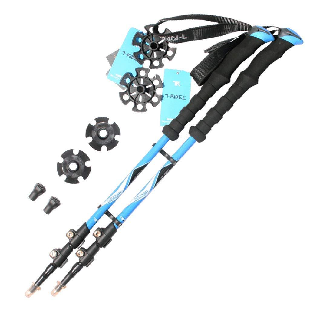 最高の品質の トレッキングポール - カーボンアロイ、超軽量 -&リトラクタブルウォーキング、ハイキング、キャンプスティック -、クイックフリップロックとEVAグリップ B07M91MP6T - 1ペア (色 : 青) B07M91MP6T 青, 中古ベビー用品店マミーズキッズ:66ab53ea --- a0267596.xsph.ru