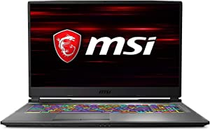 "MSI GP75 Leopard 9SE-888 17.3"" 144Hz 3ms Gaming Laptop, Intel Core i7-9750H, NVIDIA RTX 2060, 16GB, 512GB Nvme SSD, Win10"