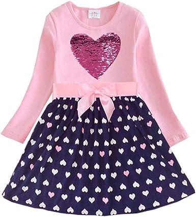 Kids 2017 Baby Girls Dress Long Sleeve Toddler Girls Clothing Children Dress