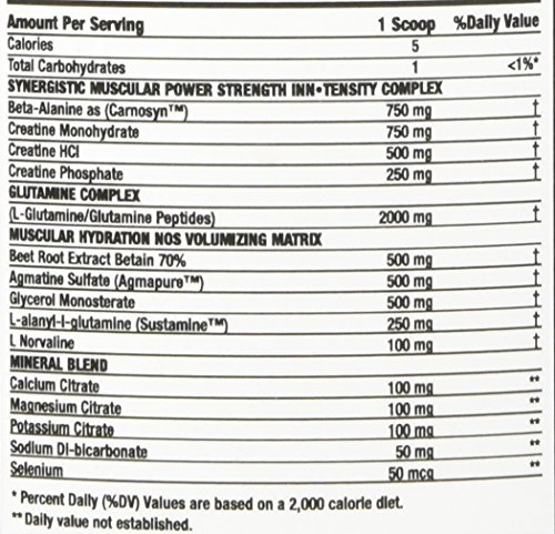 Amazon.com: Innovative Nutrients Intensity Muscular Hydration NOS Volumizer, 100 Gram: Health & Personal Care