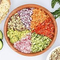 Navaris Picadora de alimentos multiusos - Trituradora de verduras ...