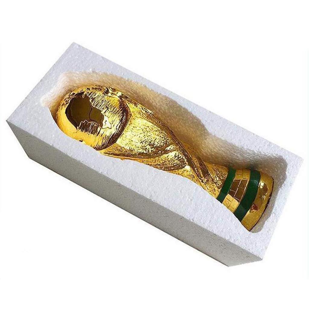 Hercules Champions League Trophy Harz Handwerk Galvanik Fu/ßballfans Souvenirs Gravur Version Creative World Trophy
