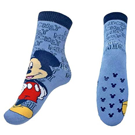 Calcetines antideslizantes Mickey Mouse -talla 31-34