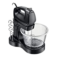 Batedeira Viva Collection Mixer Preta Ri7205 Philips Walita - 110V