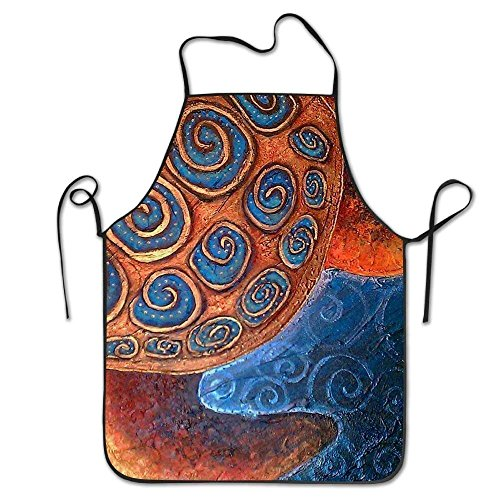 Tortoise Sea Turtle Chef Aprons Bib Save-All Barbecue Pinafore Intended for Adult Drilling ()