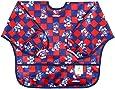 Bumkins Disney Baby Waterproof Sleeved Bib, Mickey Mouse Checkered (6-24 Months)