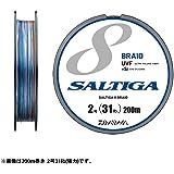 ダイワ(Daiwa) PEライン UVF ソルティガセンサー 8ブレイド+si 300m 4号 53lb マルチカラー