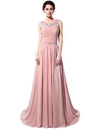 Clearbridal Women's Long Wedding Party Bridesmaid Dress CSD184