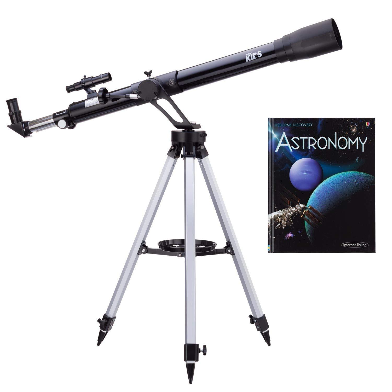 IQCREW 45-450X 900x60mm Telescope with Astronomy Book