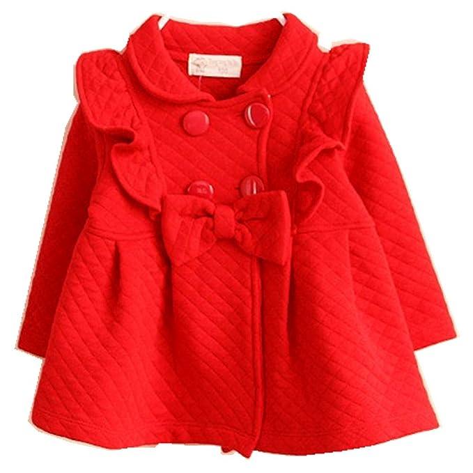 Amazon.com: YOBEBE - Chaqueta para bebés y niñas (6 M-4T ...