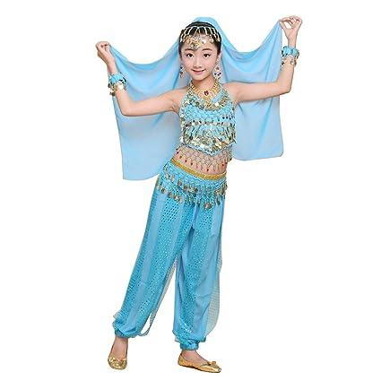 Daytwork Trajes Danza del Vientre Niñas - Trajes de Danza ...