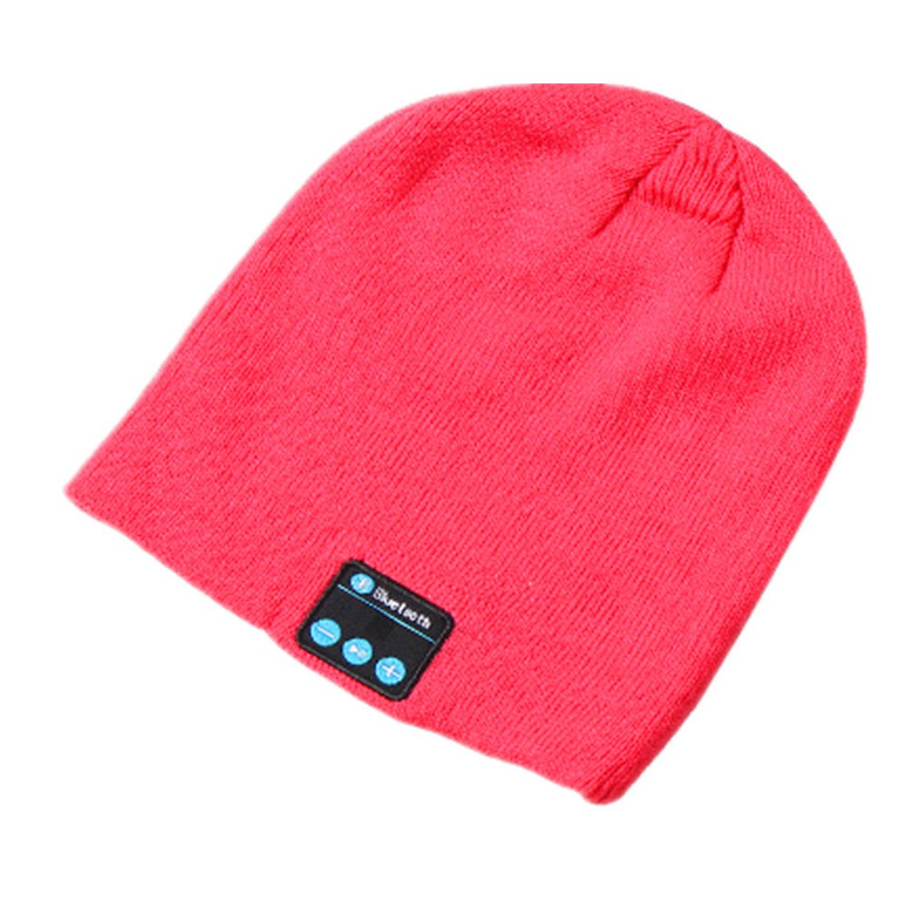 Wireless Beanie Smart Winter Knit Hat Bluetooth Unique Christmas Tech Gifts ANBOVER AN17111601