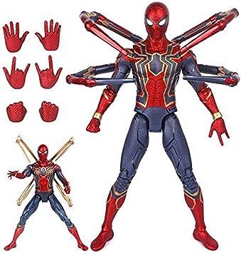 Amazon Com Qyzhcp Modelo De Spiderman De Hierro Anime Personajes