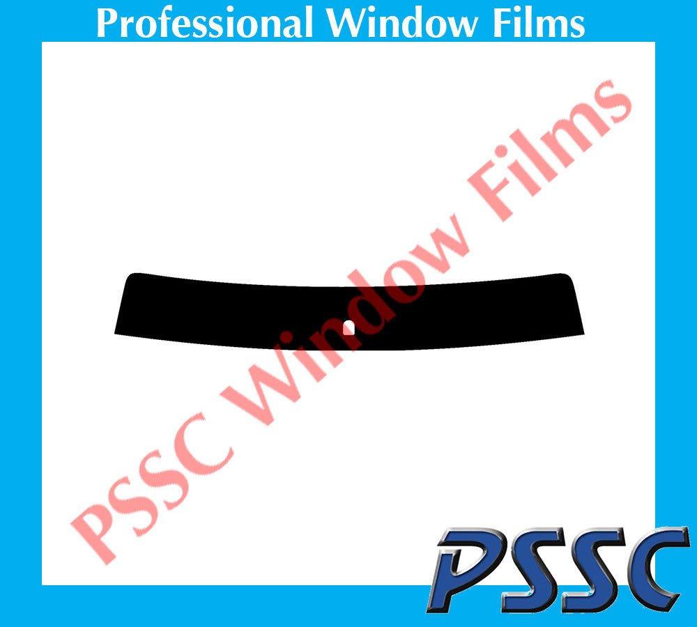 Ford Focus 3 Door Hatch 1999 to 2004 35/% Medium Tint PSSC Pre Cut Sun Strip Car Window Films