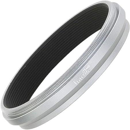 Haoge LAR-X52W Lens Filter Adapter Ring for Fujifilm Fuji FinePix X100V Camera fit 49mm UV CPL ND Filter Lens Cap Replace Fujifilm AR-X100 Silver