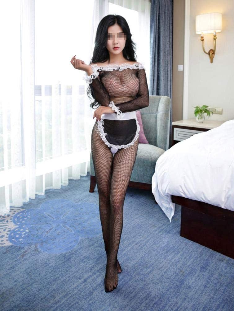 Amazon.com: Sexy Ropa de Sirena Lolita Maid Traje Negro ...
