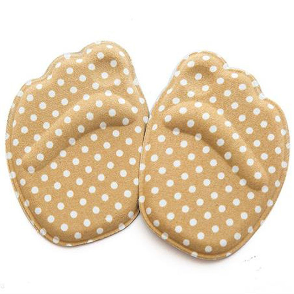 FLY-blue Heel Cushion Inserts Shoe Pads for Shoes Too Big Grips Liners Mix Comfortable Protectors for Women (ONE Size, Khaki)
